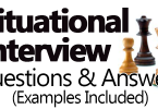 Situational Interview Questions